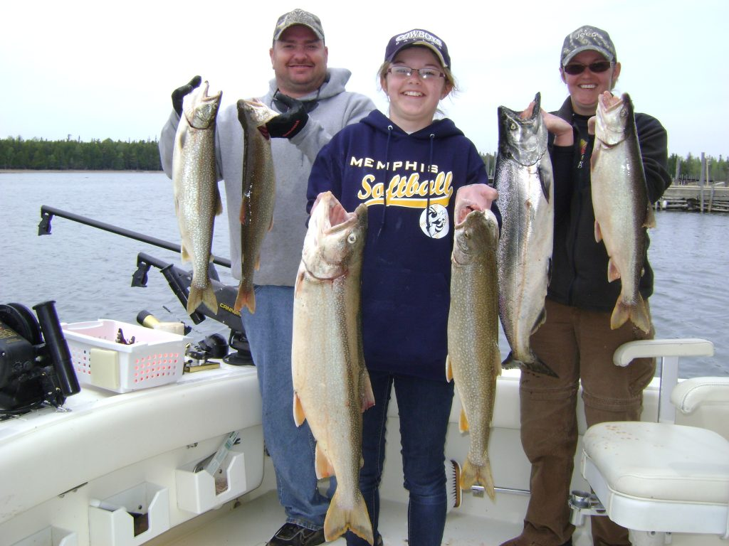 Fishing charters port austin grindstone city michigan for Michigan city fishing charters